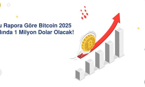 Bu Rapora Göre Bitcoin 2025 Yılında 1 Milyon Dolar Olacak!