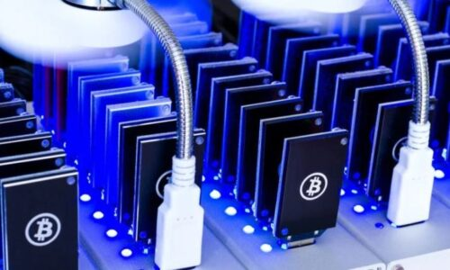 Miners are collecting bitcoins!
